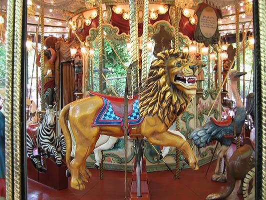 Photo du lion du grand carrousel