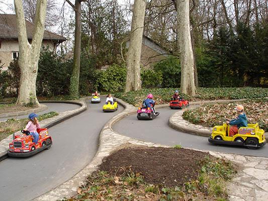 Mini Kart du Parc de la Tête d'Or