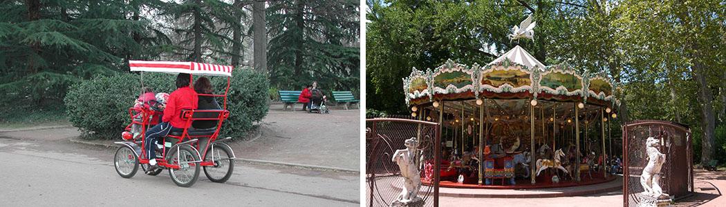 Les rosalies et le grand carrousel