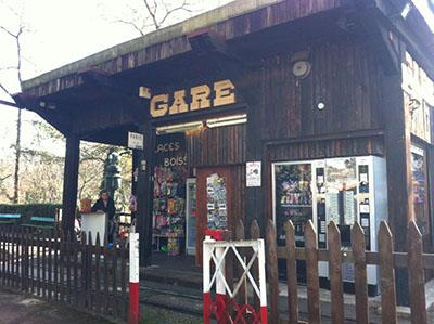 La gare du petit train