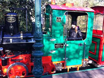 Le petit train du Parc